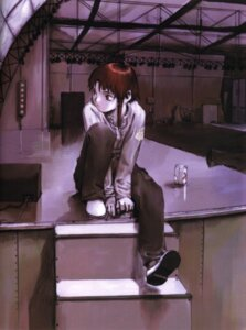 Rating: Safe Score: 12 Tags: abe_yoshitoshi iwakura_lain serial_experiments_lain User: Davison
