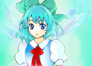 Rating: Safe Score: 4 Tags: cirno touhou wings yuieverblue User: 7ice3