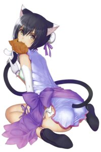 Rating: Safe Score: 70 Tags: animal_ears ass chinadress dress lin_xiao-mei nekomimi pantsu sega shining_hearts shining_world string_panties tail tony_taka User: Arkheion