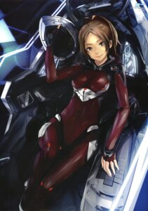 Rating: Safe Score: 61 Tags: bodysuit guilty_crown mecha redjuice shinomiya_ayase User: Radioactive
