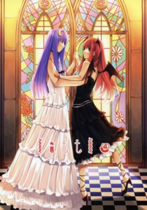 Rating: Safe Score: 5 Tags: koakuma patchouli_knowledge sekitou sou touhou User: Radioactive