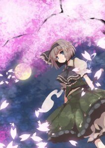 Rating: Safe Score: 4 Tags: konpaku_youmu omaemona touhou User: Ice