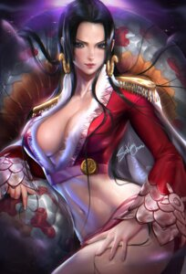 Rating: Questionable Score: 85 Tags: boa_hancock cleavage no_bra one_piece sakimichan User: charunetra