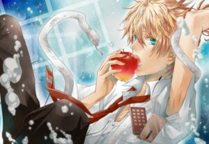 Rating: Safe Score: 13 Tags: hakuseki kagamine_len male out_of_eden_(vocaloid) vocaloid User: charunetra