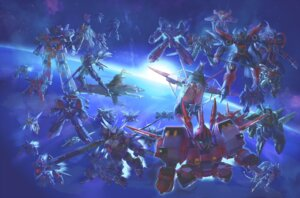 Rating: Safe Score: 10 Tags: mecha super_robot_wars tagme User: Radioactive