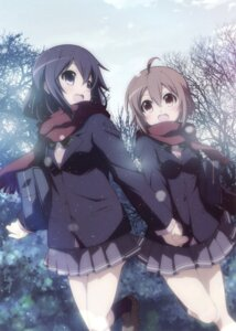 Rating: Safe Score: 30 Tags: seifuku sweater tagme yuri User: Twinsenzw