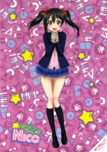 Rating: Safe Score: 57 Tags: love_live! scanning_dust seifuku sweater yazawa_nico User: fireattack