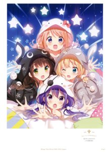 Rating: Safe Score: 8 Tags: gochuumon_wa_usagi_desu_ka? koi User: kiyoe