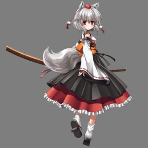 Rating: Safe Score: 21 Tags: animal_ears inubashiri_momiji kei_traum sword tail touhou transparent_png User: charunetra