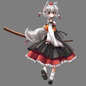 Rating: Safe Score: 22 Tags: animal_ears inubashiri_momiji kei_traum sword tail touhou transparent_png User: charunetra