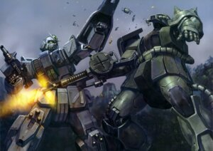 Rating: Safe Score: 10 Tags: gun gundam mecha the_08th_ms_team User: drop