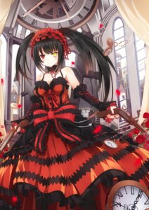 Rating: Safe Score: 98 Tags: date_a_live dress gothic_lolita gun heterochromia lolita_fashion tokisaki_kurumi zerii User: zero|fade
