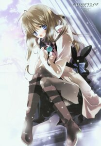Rating: Safe Score: 5 Tags: aquarian_age asagi_sakura crease pantyhose User: Radioactive