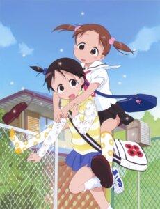 Rating: Safe Score: 10 Tags: ichigo_mashimaro itou_chika matsuoka_miu sakai_kyuuta seifuku User: Radioactive