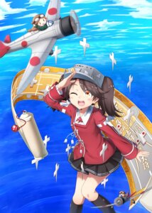 Rating: Safe Score: 16 Tags: chibi fairy_(kancolle) kantai_collection nogisaka_kushio ryuujou_(kancolle) User: Mr_GT