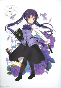 Rating: Safe Score: 58 Tags: gochuumon_wa_usagi_desu_ka? koi pantyhose tedeza_rize uniform User: fireattack