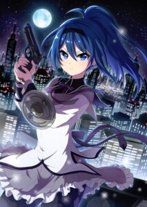Rating: Safe Score: 29 Tags: gun pantyhose project_tokyo_dolls puella_magi_madoka_magica seifuku User: saemonnokami