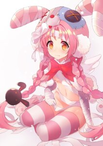 Rating: Questionable Score: 24 Tags: animal_ears bandages bunny_ears loli naked_cape naked_ribbon princess_connect princess_connect!_re:dive tail thighhighs zipplin User: Mr_GT