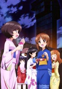 Rating: Safe Score: 8 Tags: akiyama_yukari girls_und_panzer isuzu_hana nishizumi_miho reizei_mako takebe_saori yukata User: drop