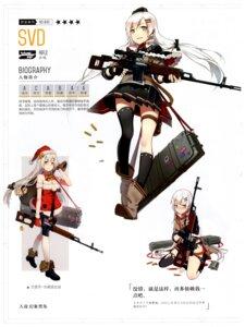 Rating: Questionable Score: 9 Tags: christmas dress girls_frontline gun heels pantsu tagme thighhighs torn_clothes uniform User: Radioactive