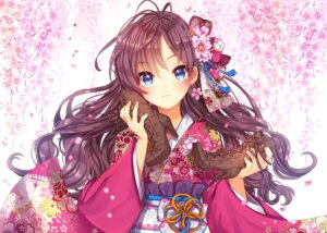 Rating: Safe Score: 96 Tags: gabe_(seelunto) heels ichinose_shiki kimono the_idolm@ster the_idolm@ster_cinderella_girls User: Mr_GT