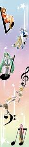 Rating: Safe Score: 7 Tags: hatsune_miku ichiya_(artist) kagamine_len kagamine_rin kaito megurine_luka meiko vocaloid User: yumichi-sama