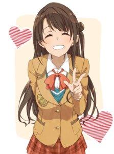 Rating: Safe Score: 43 Tags: haine seifuku shimamura_uzuki the_idolm@ster the_idolm@ster_cinderella_girls User: saemonnokami