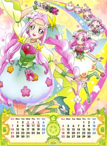 Rating: Safe Score: 4 Tags: calendar dress haa-chan_(precure) heels mahou_girls_precure! pretty_cure see_through weapon User: drop