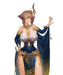 Rating: Safe Score: 22 Tags: ao_mei_douji cosplay dress horns kantai_collection monster_hunter_world mutsu_(kancolle) User: Mr_GT