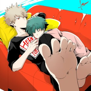 Rating: Safe Score: 5 Tags: bakugou_katsuki boku_no_hero_academia feet male midoriya_izuku tagme yaoi User: charunetra