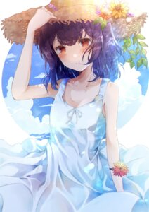 Rating: Safe Score: 18 Tags: dress morino_rinze namamake see_through skirt_lift summer_dress the_idolm@ster the_idolm@ster_shiny_colors User: Arsy