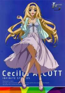 Rating: Safe Score: 62 Tags: cecilia_alcott cleavage dress infinite_stratos User: DDD