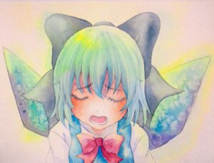 Rating: Safe Score: 9 Tags: cirno touhou yuyu_(00365676) User: Radioactive