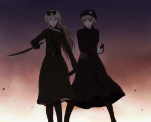 Rating: Safe Score: 9 Tags: belarus harano hetalia_axis_powers ukraine uniform User: yumichi-sama