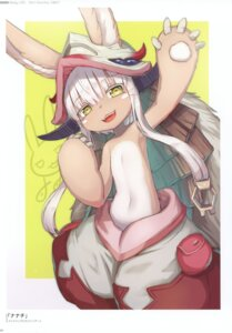 Rating: Questionable Score: 23 Tags: 2d animal_ears made_in_abyss nanachi User: kiyoe