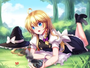 Rating: Safe Score: 39 Tags: heels kirisame_marisa koissa touhou witch User: Mr_GT