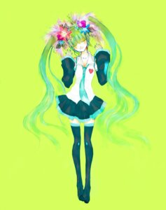 Rating: Safe Score: 5 Tags: hatsune_miku nekono_mimiko thighhighs vocaloid User: Radioactive