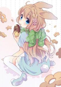 Rating: Safe Score: 37 Tags: animal_ears bunny_ears heels miyatsuki_mosoko thighhighs User: KazukiNanako