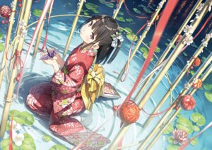 Rating: Safe Score: 73 Tags: kantoku kimono possible_duplicate shizuku_(kantoku) wet User: Dreista