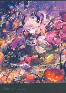 Rating: Questionable Score: 15 Tags: armor halloween horns ibara_riato molamola shingeki_no_bahamut stockings tagme thighhighs weapon User: Radioactive