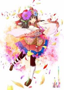 Rating: Safe Score: 54 Tags: akeboshi_kagayo hakurei_reimu lolita_fashion pantyhose touhou wa_lolita User: charunetra
