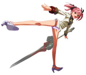Rating: Questionable Score: 11 Tags: heels mokke_(artist) pantsu seifuku string_panties weapon User: Radioactive