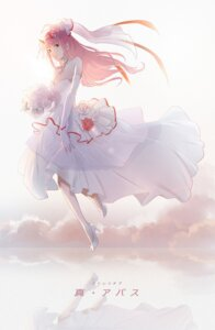 Rating: Safe Score: 27 Tags: cleavage darling_in_the_franxx dress heels horns see_through umumu wedding_dress zero_two_(darling_in_the_franxx) User: Mr_GT
