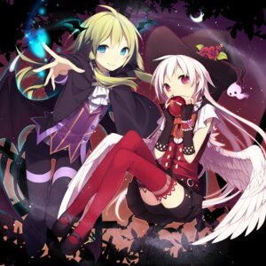 Rating: Safe Score: 22 Tags: halloween hijiri_(resetter) witch User: fairyren
