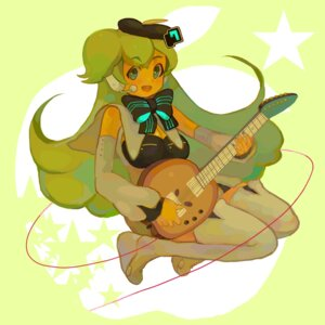 Rating: Safe Score: 2 Tags: guitar kuragi macne_nana thighhighs vocaloid User: charunetra