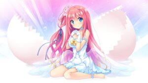 Rating: Safe Score: 47 Tags: cleavage dress hoshino_iroha motoi_ayumu pulltop pure_song_garden! wings User: moonian
