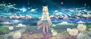 Rating: Safe Score: 31 Tags: animal_ears happy_meek_(umamusume) landscape tail uma_musume_pretty_derby yuuki_tatsuya User: BattlequeenYume