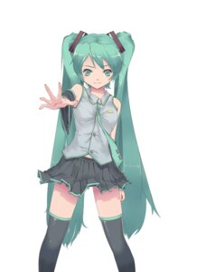 Rating: Safe Score: 7 Tags: hatsune_miku thighhighs violent_panda vocaloid User: charunetra