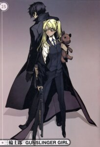 Rating: Safe Score: 14 Tags: gun gunslinger_girl hilshire miwa_shirow triela User: Share