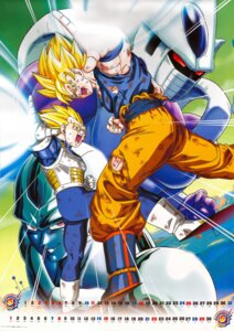 Rating: Safe Score: 10 Tags: calendar cooler dragon_ball dragon_ball_z male son_goku vegeta User: Komori_kiri